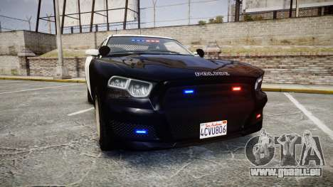 GTA V Bravado Buffalo LS Police [ELS] Slicktop pour GTA 4