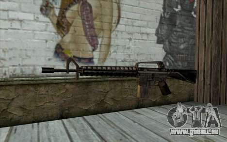 M16 from Beta Version pour GTA San Andreas