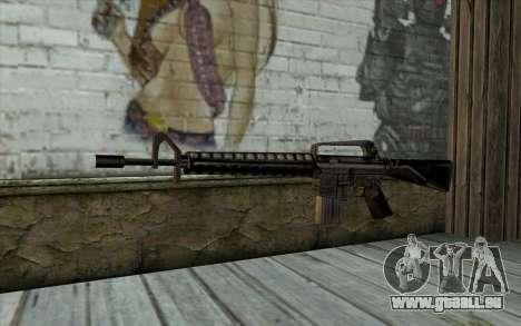 M16 from Beta Version für GTA San Andreas