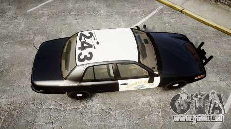 Ford Crown Victoria CHP CVPI Slicktop [ELS] für GTA 4 rechte Ansicht