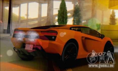 Pegassi Vacca (IVF) pour GTA San Andreas laissé vue