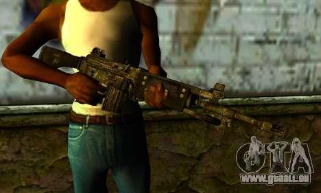 Dawn Patrol from Gotham City Impostors pour GTA San Andreas troisième écran