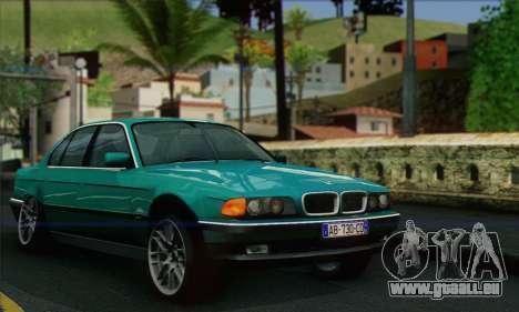 BMW 7-series für GTA San Andreas