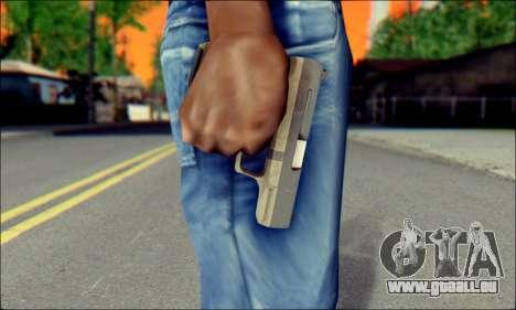 Walther P99 Bump Mapping v2 pour GTA San Andreas troisième écran