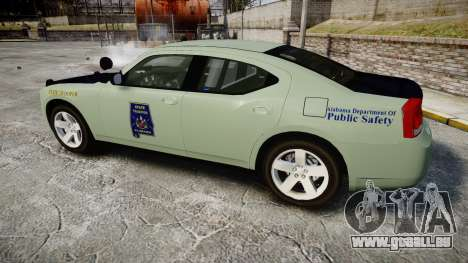 Dodge Charger 2010 Alabama State Troopers [ELS] pour GTA 4 est une gauche