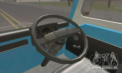 Isuzu ELF pour GTA San Andreas sur la vue arrière gauche