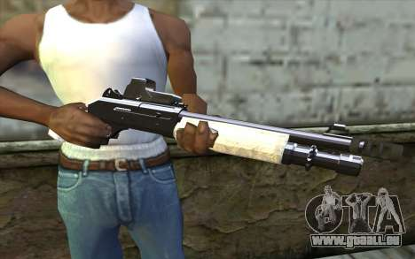 Silver Shotgun für GTA San Andreas dritten Screenshot