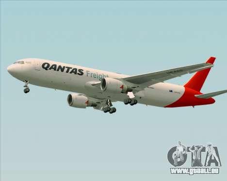 Boeing 767-300F Qantas Freight pour GTA San Andreas moteur