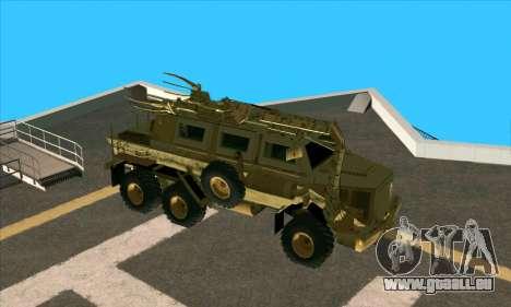 Bonecrusher Transformers 2 pour GTA San Andreas sur la vue arrière gauche