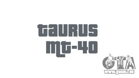 Pistole Taurus MT-40 buttstock1 icon1 für GTA 4 dritte Screenshot