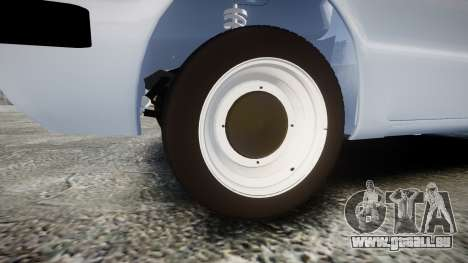 ZAZ-968 für GTA 4 Rückansicht