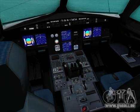 Airbus A321-200 Air Canada für GTA San Andreas Innen