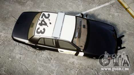Ford Crown Victoria CHP CVPI Liberty [ELS] pour GTA 4 est un droit