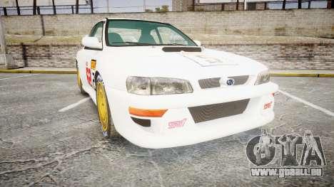 Subaru Impreza WRC 1998 SA Competio pour GTA 4