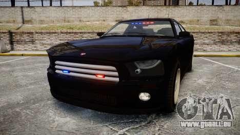 GTA V Bravado FIB Buffalo [ELS] für GTA 4