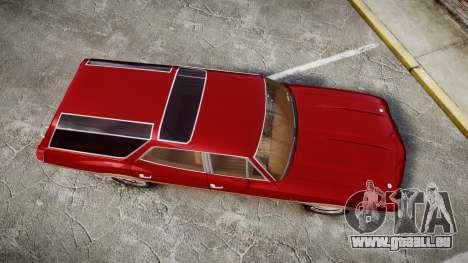 Oldsmobile Vista Cruiser 1972 Rims1 Tree2 pour GTA 4 est un droit