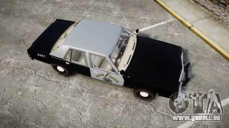 Ford LTD Crown Victoria 1987 Police CHP2 [ELS] pour GTA 4 est un droit