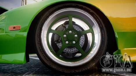 Nissan 240SX S13 Tuned für GTA 4 Rückansicht