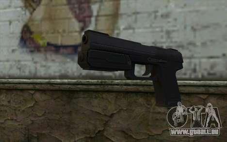 Pistol from Deadpool pour GTA San Andreas