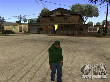 Cleo Walk Style pour GTA San Andreas deuxième écran