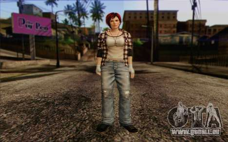 Mila 2Wave from Dead or Alive v9 pour GTA San Andreas