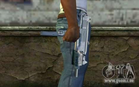 Uzi from Beta Version pour GTA San Andreas troisième écran