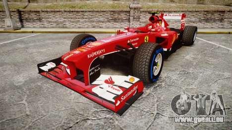 Ferrari F138 v2.0 [RIV] Massa TFW pour GTA 4