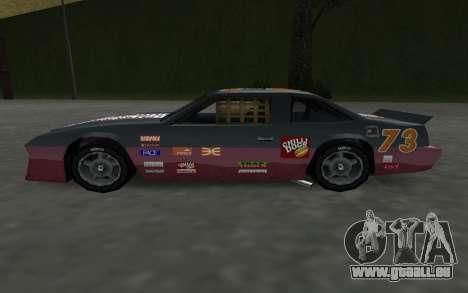 De nouveaux autocollants et non Hotring pour GTA San Andreas vue de droite