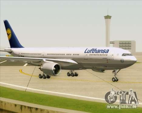 Airbus A330-200 Lufthansa für GTA San Andreas linke Ansicht