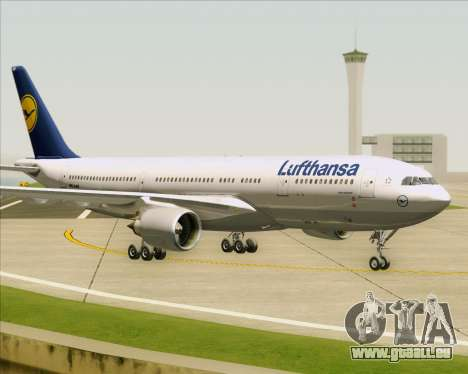 Airbus A330-200 Lufthansa pour GTA San Andreas laissé vue