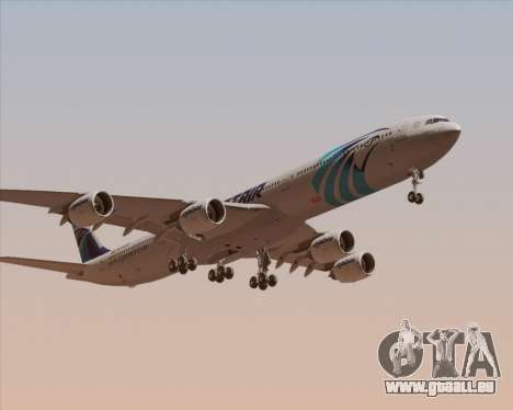 Airbus A340-600 EgyptAir pour GTA San Andreas laissé vue