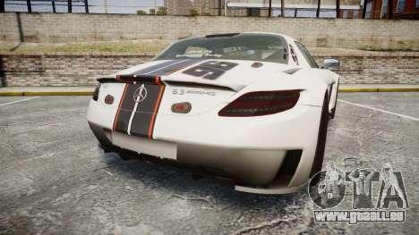 Mercedes-Benz SLS AMG GT-3 low für GTA 4 hinten links Ansicht