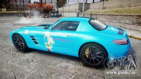 Mercedes-Benz SLS AMG v3.0 [EPM] Kotori Minami für GTA 4 linke Ansicht