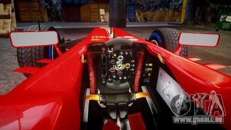 Ferrari F138 v2.0 [RIV] Massa TFW pour GTA 4 est une vue de l'intérieur
