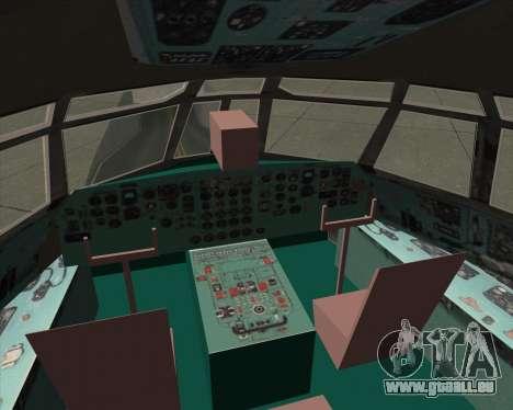 IL-76TD ALROSA für GTA San Andreas Innen