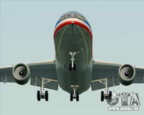 McDonnell Douglas DC-10-30 American Airlines pour GTA San Andreas vue arrière