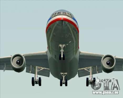 McDonnell Douglas DC-10-30 American Airlines für GTA San Andreas Rückansicht