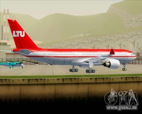 Airbus A330-200 LTU International pour GTA San Andreas vue de dessous
