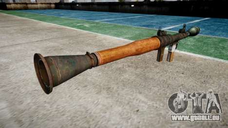 Handheld-Panzerabwehr-Granate (RPG) für GTA 4 Sekunden Bildschirm