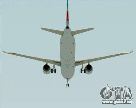 Airbus A321-200 Air Canada für GTA San Andreas Seitenansicht