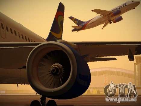 Airbus A319-132 Spirit Airlines für GTA San Andreas