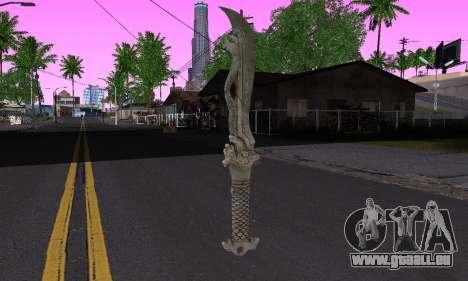La même lame (FarCry 3) pour GTA San Andreas deuxième écran