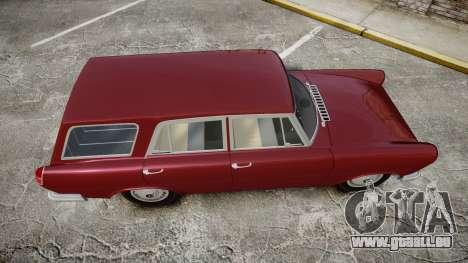 FSO Warszawa Ghia Kombi 1959 pour GTA 4 est un droit