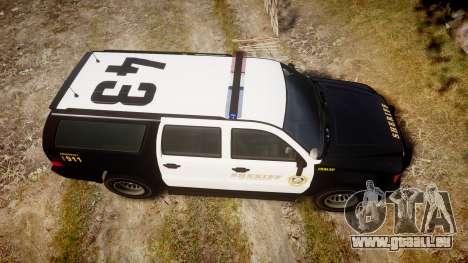 GTA V Declasse Granger LSS Black [ELS] für GTA 4 rechte Ansicht