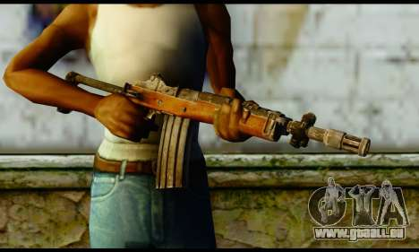 Ruger Mini-14 from Gotham City Impostors v1 für GTA San Andreas dritten Screenshot