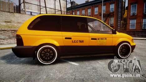 Schyster Cabby Taxi für GTA 4 linke Ansicht