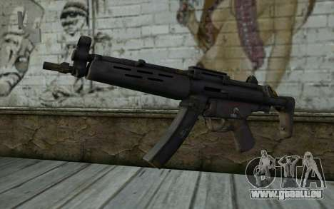 MP5 from FarCry 3 für GTA San Andreas