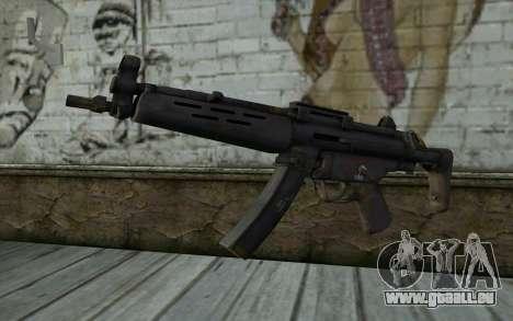 MP5 from FarCry 3 für GTA San Andreas
