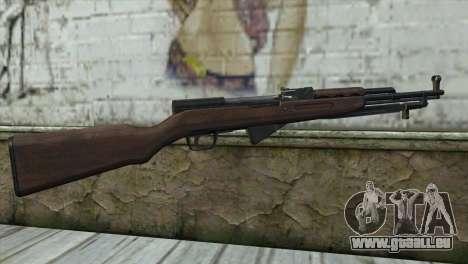 СКС vom Aufstand für GTA San Andreas zweiten Screenshot
