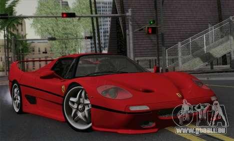 Ferrari F50 1995 Autovista für GTA San Andreas